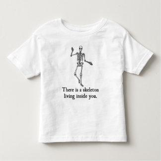 Skeleton Living Inside You Tee Shirt