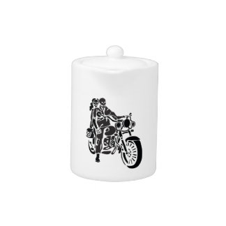 Skeleton Motorcycle Couple