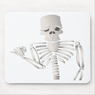 Skeleton Mouse Pad