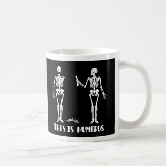 Skeleton Mug - Crazy skeletons -Humorous & humerus
