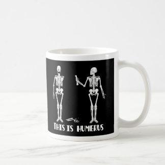 Skeleton Mug - Crazy skeletons -Humorous & humerus