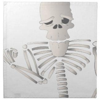 Skeleton Napkin