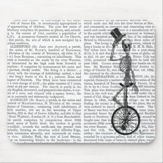 Skeleton on Unicycle Mouse Pad