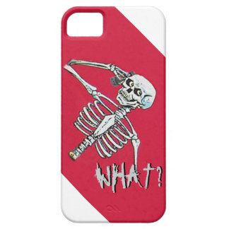 Skeleton phone call iPhone 5 cover