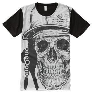 Skeleton Skull 101 All-Over-Print T-Shirt