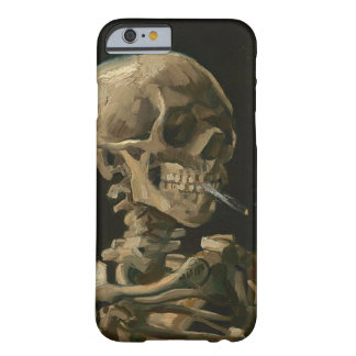 Skeleton Skull with Burning Cigarette by Van Gogh Barely There iPhone 6 Case