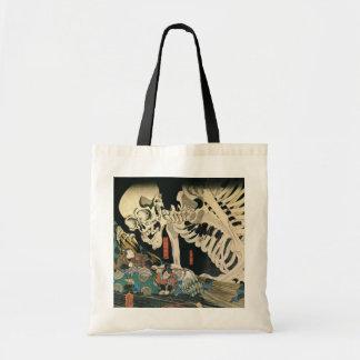 Skeleton Spectre by Kuniyoshi Utagawa Canvas Bag