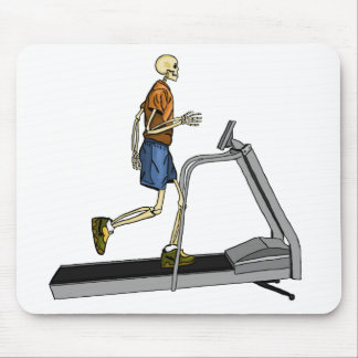 Skeleton Sport Fitness Mouse Pad