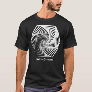 Skeleton Staircase Pattern T-Shirt