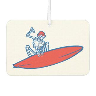 Skeleton Surfer Car Air Freshener