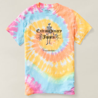 Skeleton tie-dye t-shirt
