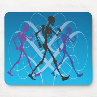 Skeleton Walk Mousepad