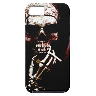Skeleton with Attitude Case For The iPhone 5