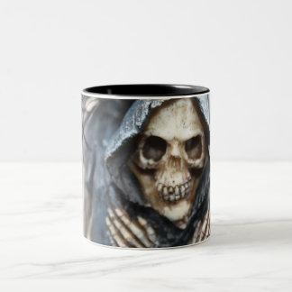 Skeleton with Hood Mug