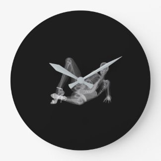 Skeleton woman sexy radiography large clock
