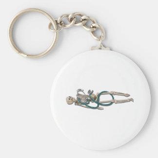 SkeletonAndStethoscope111311 Keychain