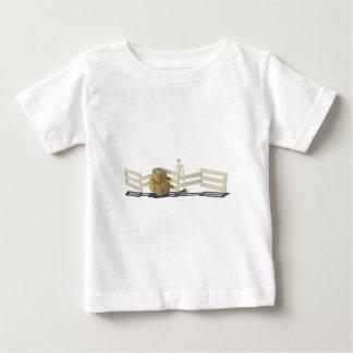 SkeletonBalesOfHayFence062115 Baby T-Shirt