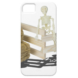 SkeletonBalesOfHayFence062115 iPhone 5 Covers