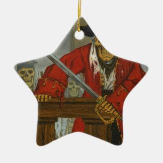 SkeletonCrew.JPG Ceramic Star Ornament