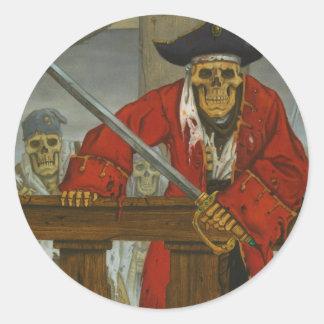 SkeletonCrew.JPG Classic Round Sticker