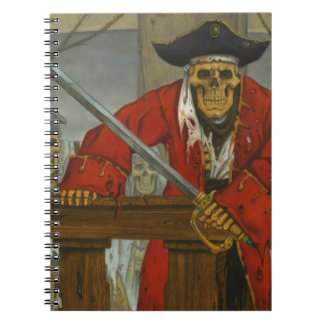 SkeletonCrew.JPG Spiral Notebook