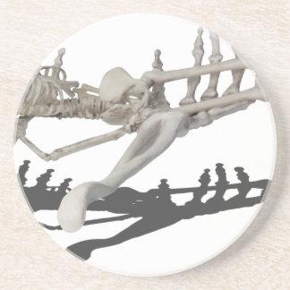 SkeletonHandsHoldingSkeleton081914 copy Beverage Coaster