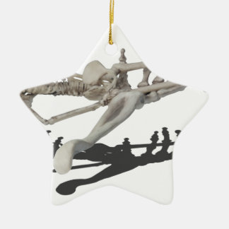 SkeletonHandsHoldingSkeleton081914 copy Ceramic Star Ornament