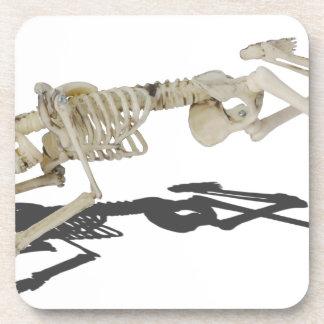 SkeletonProneSideways032215 Coasters