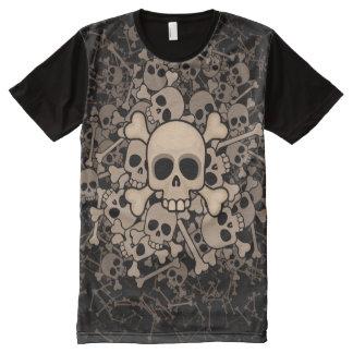 Skeletons All-Over-Print T-Shirt