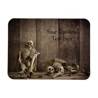 Skeletons custom text magnet