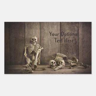 Skeletons custom text stickers