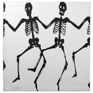 Skeletons Napkin