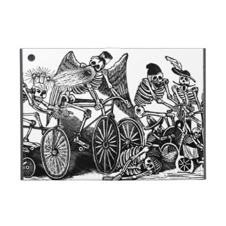 Skeletons on Bicycles Cover For iPad Mini