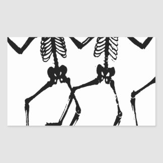 Skeletons Sticker