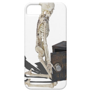 SkeletonWithSafe032215 Case For The iPhone 5