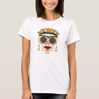 Skelly with Earrings T-Shirt