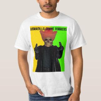 Skelvis Fingers Armadillo Grave Robbers T-Shirt