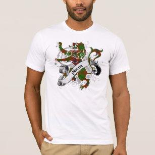 Skene Tartan Lion T-Shirt