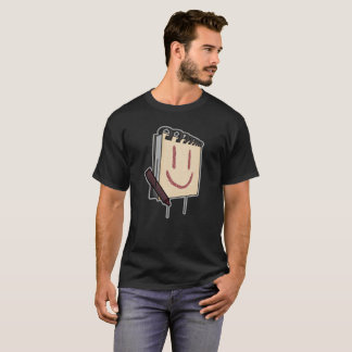 Sketch-book Smiley Face - Quinn Hester T-Shirt