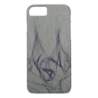 Sketch Cat Phone Case