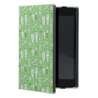 Sketch Crocodile Pattern iPad Mini Cover