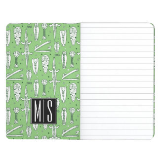 Sketch Crocodile Pattern | Monogram Journals