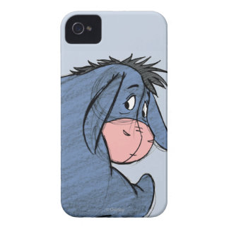 Sketch Eeyore 1 iPhone 4 Case-Mate Case
