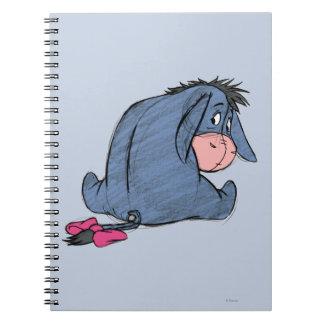 Sketch Eeyore 1 Spiral Notebooks