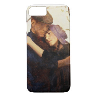 Sketch for 'Betrothed' (oil on canvas) iPhone 7 Case