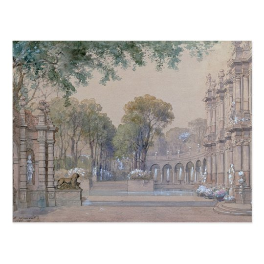 Sketch for Tchaikovsky's Ballet Postcard