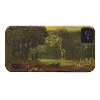 Sketch from Nature in Sion Park, 1819 (oil on card iPhone 4 Case