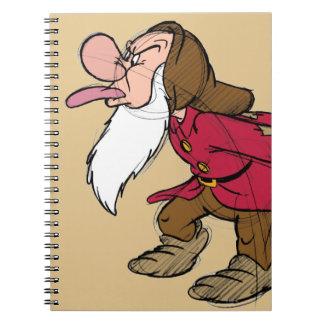 Sketch Grumpy Spiral Notebook