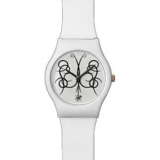 Sketch of a butterfly watch