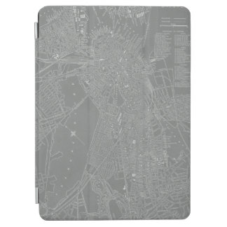 Sketch of Boston City Map iPad Air Cover